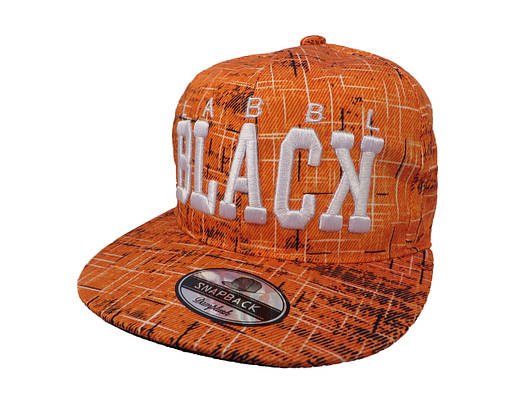 Кепка LABBL BLAСK оранжевая (реплика)