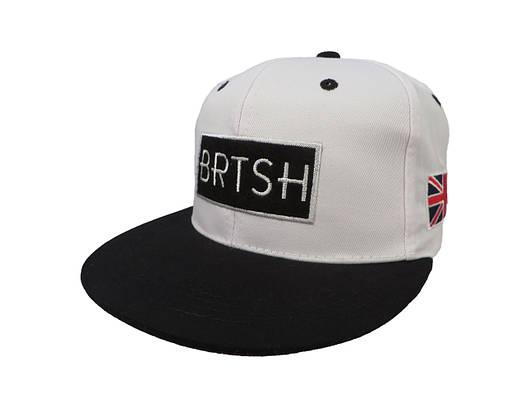 Белая кепка ВRTSH (реплика)