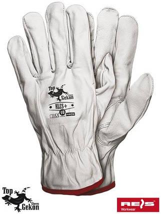 Защитные перчатки из кожи RLCS+ W, фото 2