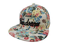 Белая кепка LA