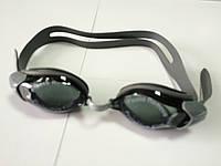 Очки для плаванья Spurt черно-серые