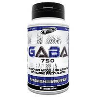 ГАБА гамма-аминомасляная кислота GABA 750 (60 caps)
