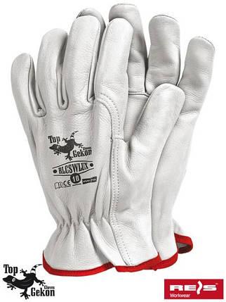 Защитные перчатки из кожи RLCSWLUX W, фото 2