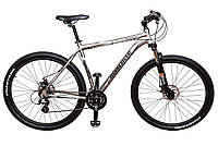 Велосипед Mascotte Attack 29ER серый Рама 21