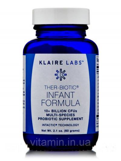 Зеа-Биотик Младенческая формула, Ther-Biotic Infant Formula, Klaire Labs, 2.1 ун(60 Грамм)