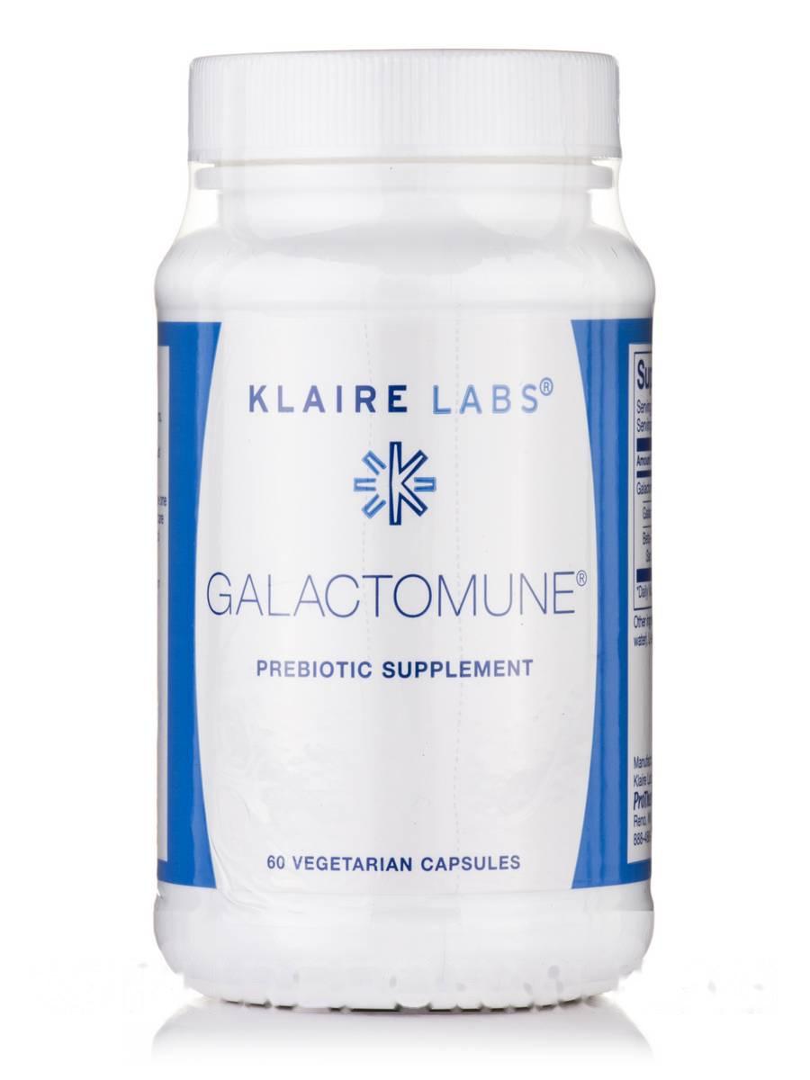 Галактамун, Galactomune, Klaire Labs, 60 Вегетарианских Капсул