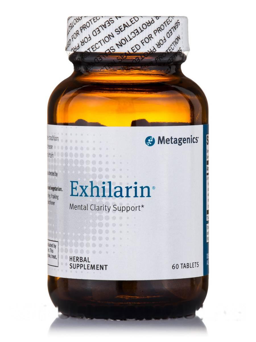 Экхиларин, Exhilarin, Metagenics, 60 таблеток