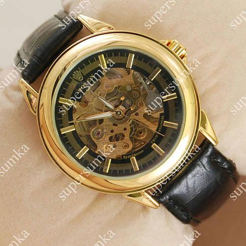 Механические наручные часы Rolex Classic Professional Gold/Black 2055