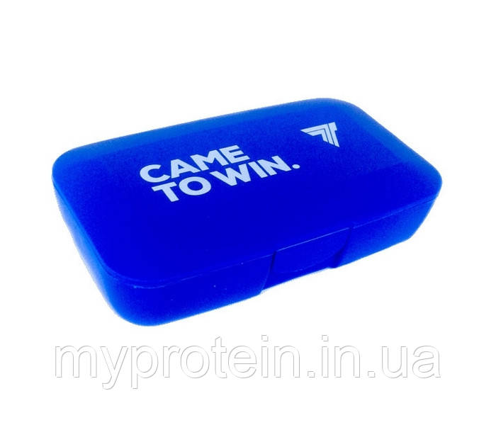 Таблетница Pillbox Came To Win (blue)