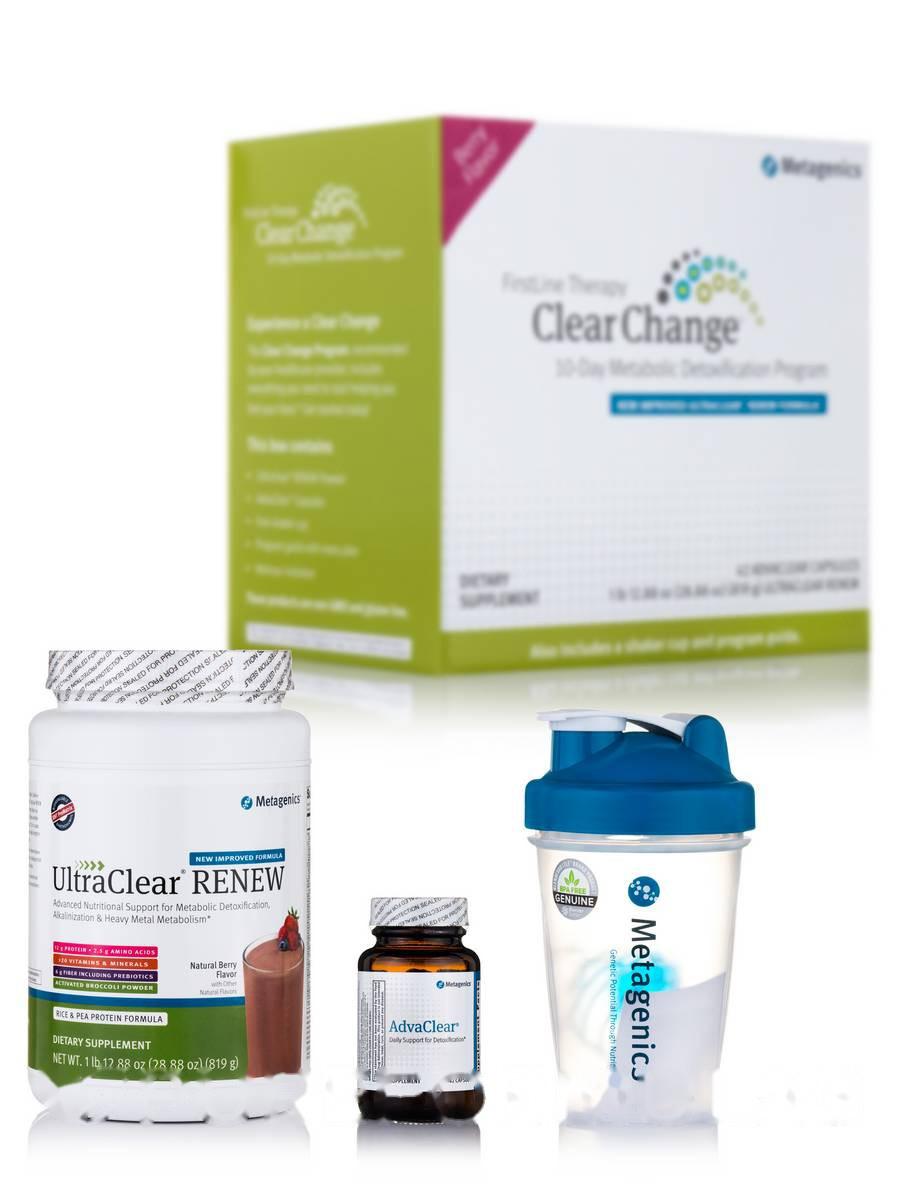 Чітка зміна з допомогою УльтраЧистка RENEW Формула, ягідний смак, Clear Change with UltraClear RENEW
