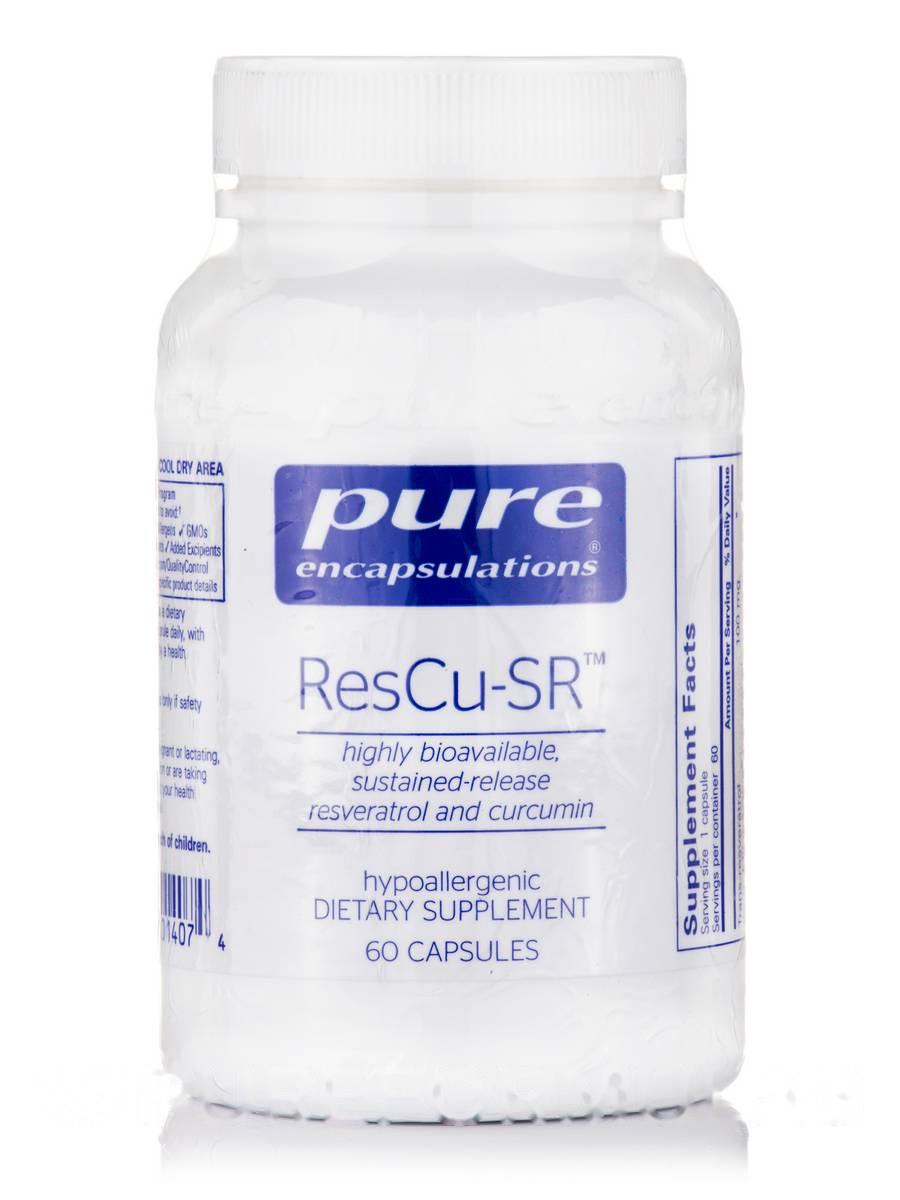 Реску-СР, ResCu-SR, Pure Encapsulations, 60 Капсул