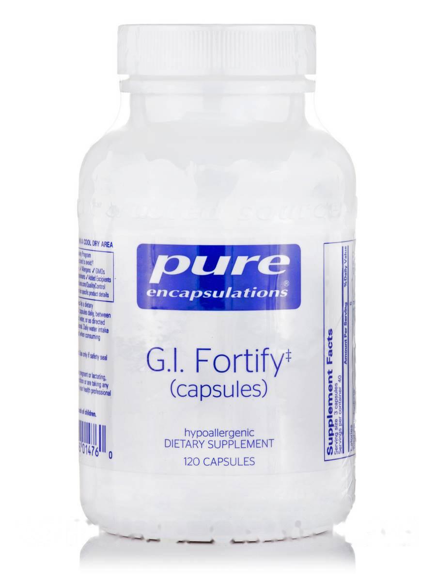 Г.И. Фортифи, G.I. Fortify, Pure Encapsulations, 120 Капсул