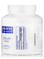 Кальций (цитрат), Calcium (citrate), Pure Encapsulations, 180 капсул, фото 2
