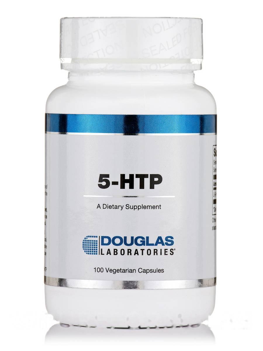 5-HTP5-гідроксітріптофан, 5-HTP 100, Douglas Laboratories, 100 капсул Вегетаріанських