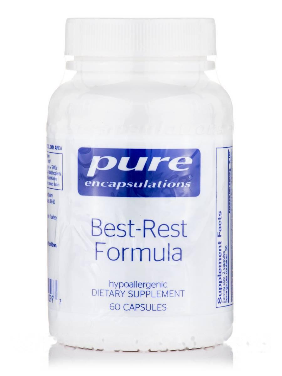 Бест-Рест Формула, Best-Rest Formula, Pure Encapsulations, 60 Капсул
