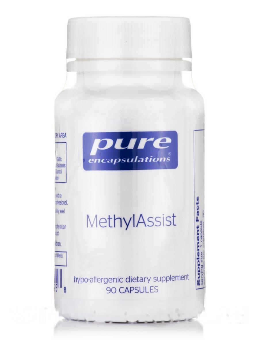 МетилАссист, MethylAssist, Pure Encapsulations, 90 капсул