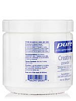 Креатин-порошок, Creatine Powder, Pure Encapsulations, 250 грамів, фото 4