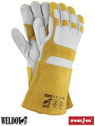 Перчатки защитные для сварщиков HONEYBEE WY, фото 2