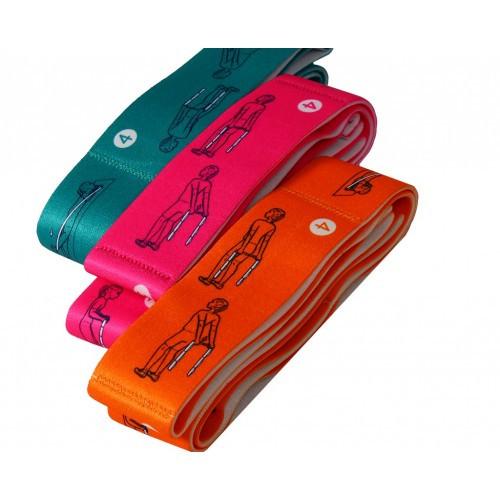 Еспандер (еластична стрічка) для розтяжки BT-SG-0001 95*4см 4кол.кул./50/