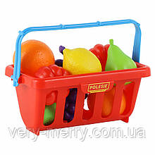 Набор продуктов с корзиной Полесье №2 (в сеточке) 46963