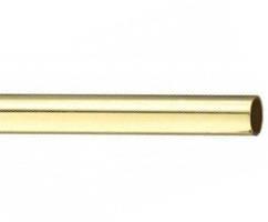 Труба для карниза гладкая 16 мм 1,60 м