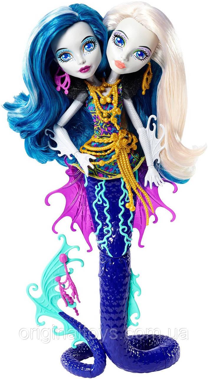 Кукла Monster High Пэрл и Пери Серпентайн Большой Скарьерный Риф Great Scarrier Reef