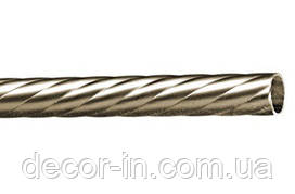 Труба для карниза крученная 16 мм 1,60 м
