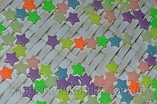 Бусина флуоресцентная звезда 10 мм