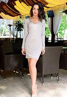 Женское короткое платье с декольте Tomorrow