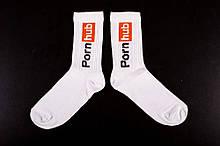 Шкарпетки Without PornHub 36-44 White