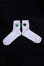 Шкарпетки Without Cannabis 36-44 White