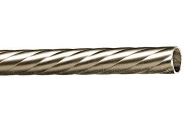 Труба для карниза крученная 16 мм 2,40 м