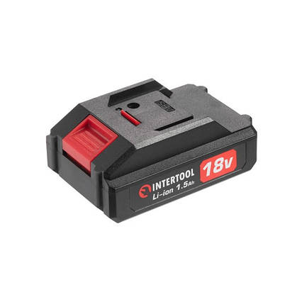 Аккумулятор 18 В, литий-ион, 1.5 Ач, для шуруповерта DT-0315 INTERTOOL DT-0316