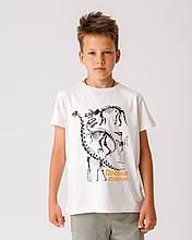 Дитяча футболка Stimma Виловия 7804 140 молочний