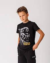Дитяча футболка Stimma Виловия 7803 140 чорний