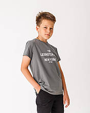 Дитяча футболка Stimma Кіану 7801 140 графітовий