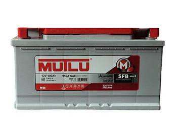 БЕЗКОШТОВНА ДОСТАВКА! Акумулятор MUTLU 100-0 (R+) (950A)