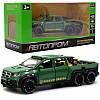 Игрушечная машинка металлическая «Mercedes Pickup» Автопром (Мерседес) пикап, зеленый, 20*6*7 см, (7584)