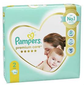 Підгузки Памперс преміум Pampers Premium Care- New Baby 2 (94 шт / 4-8 кг)