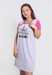 Нічна сорочка для годуючої матусі