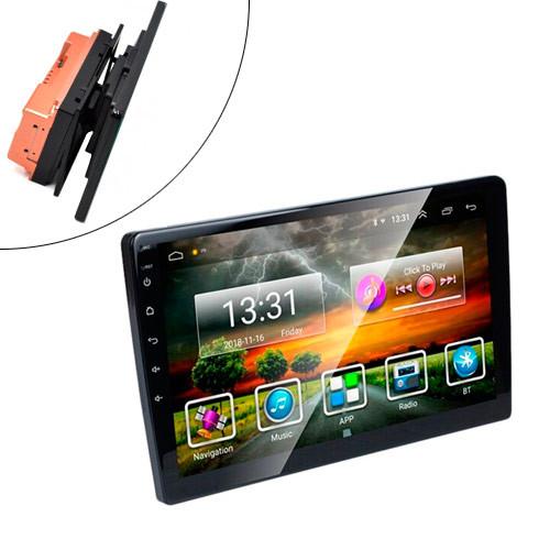 "Автомагнитола 10.1"" 1/16ГБ Android 9 Wi-Fi GPS 2xUSB MP5 2 DIN с ДУ"