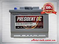 Аккумулятор PRESIDENT 6CT-65-1 65Ah/640A L+ (Президент) Aco Group Автомобильный АКБ Кислотный Турция НДC