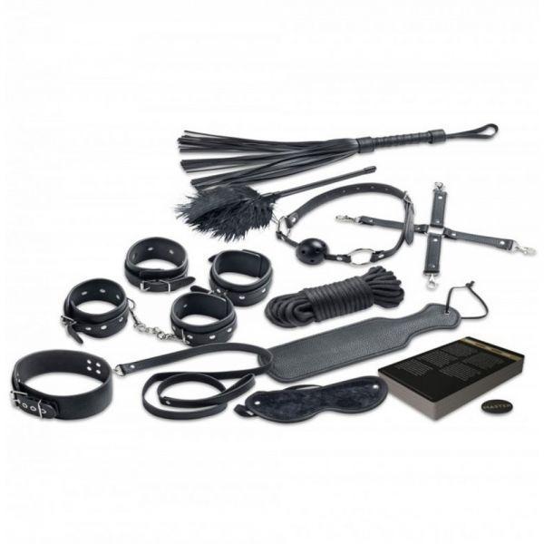 БДСМ бондажний комплект Master & Slave 10 предметів