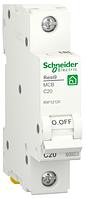 Автоматичний вимикач R9F12120 1P 20A C Resi9 Schneider Electric