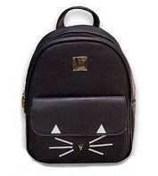 Рюкзак жіночий міський модний. Підлітковий рюкзак для дівчини чорний 1451721893