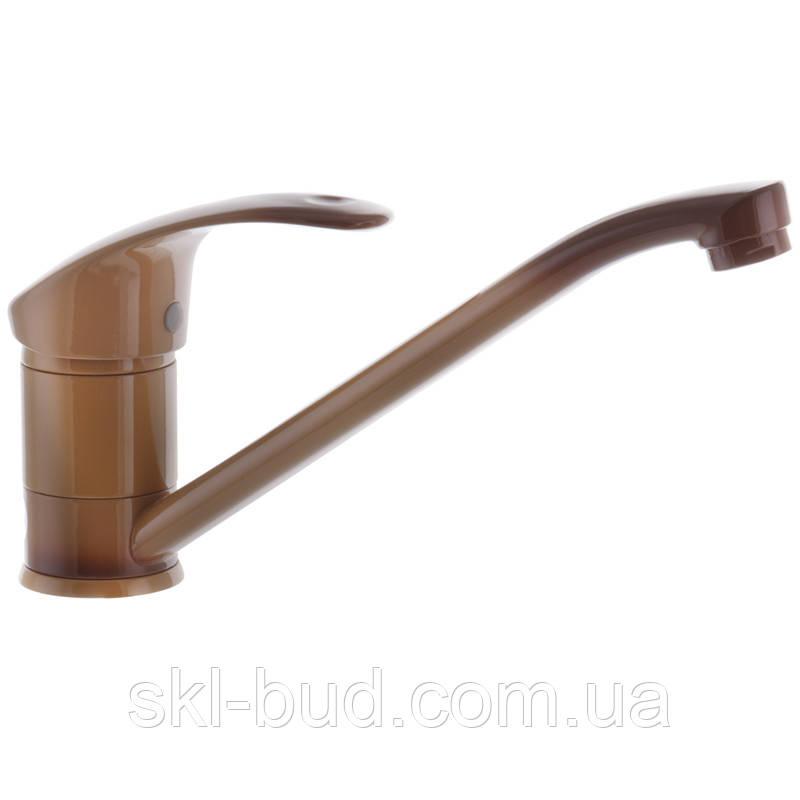 Смеситель для кухни Haiba MARS 004 коричневый (HB0244)