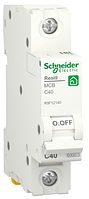 Автоматичний вимикач R9F12140 1P 40A C Resi9 Schneider Electric