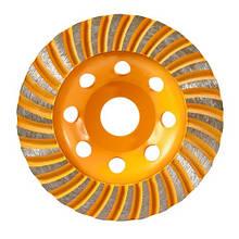 Диск Турбо шліфувальне форми 115 мм INGCO