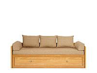 Кровать LOZ/80/160 Sevilla 160х200 BRW клен онтарио