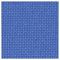 Ткань равномерного переплетения Lugana 25 3835/504 (синий) Dresden Blue  Zweigart (Германия) 50*35см